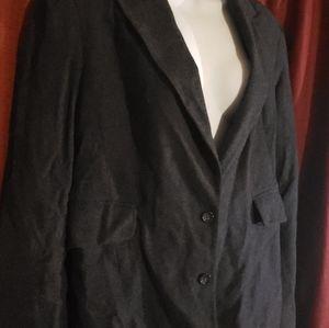 Banana republic wool suit gray 12